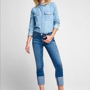 NWT Hudson Tally Midrise Cropped Skinny Jeans sz29